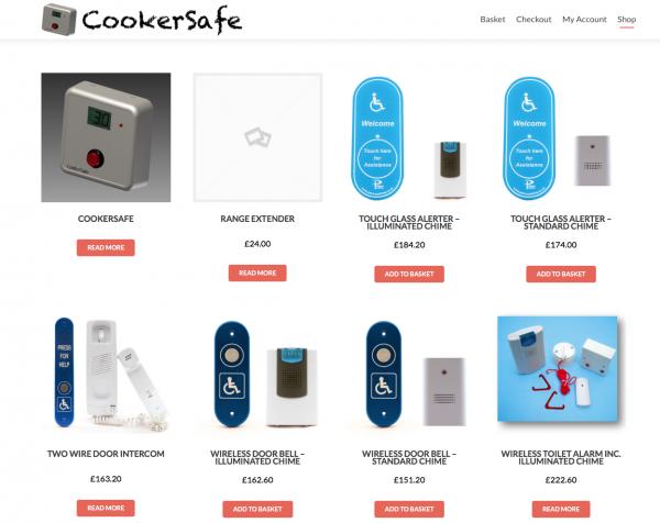 CookerSafe Online Shop