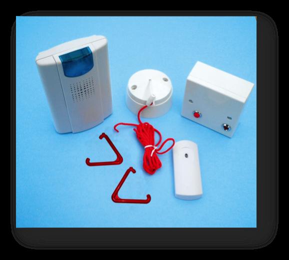 Wireless Toilet Alarm Inc Illuminated Chime Cookersafe